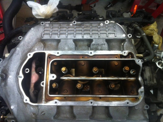 Intake Manifold on Honda Odyssey Valve Cover Gasket Replacement
