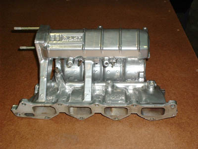 What is the role and job of the intake manifold?