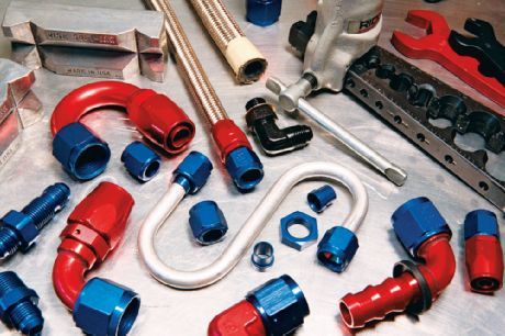 Fuel Line Fittings AN Standard Oil Coolant Flexable Hose Sizing