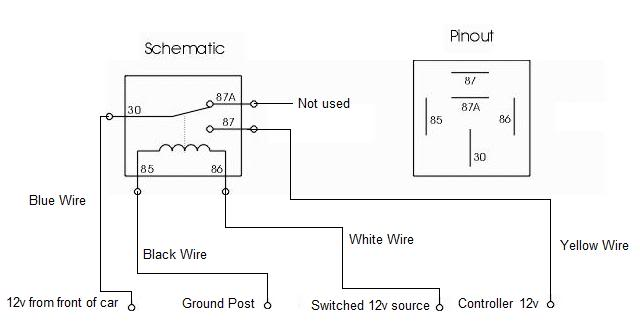 12v 5 pin relay wiring diagram schematics and wiring diagrams car security and convenience power door locks multiple wire
