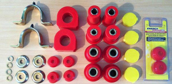 Polyurethane Suspension Bushings >> Suspension Bushings Rubber Vs Polyurethane