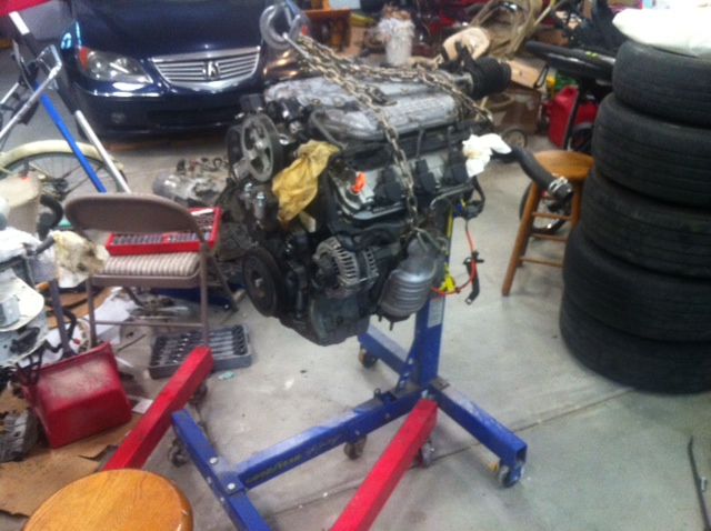 J35a8 Honda/Acura V6 Intake Manifold Removal