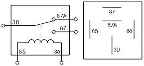 relay diagram 5 pin relay image wiring diagram relay diagram 4 pin relay auto wiring diagram schematic on relay diagram 5 pin