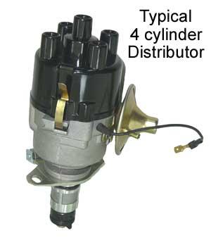 automotive car engine ignition distributor basics how it works