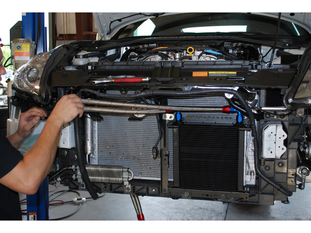 Oil Cooler Design Basics | How to add an oil cooler to a car